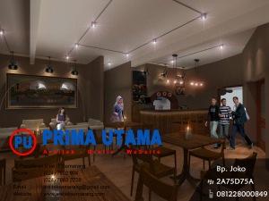 Jasa Desain Interior Cafe O Presidentio di Salatiga 2