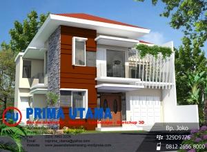 Jasa Desain Rumah Minimalis Klasik 2 Lantai di Palur Solo