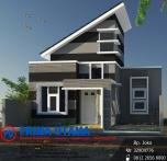 RK 018 Rumah Minimalis Modern Type 45