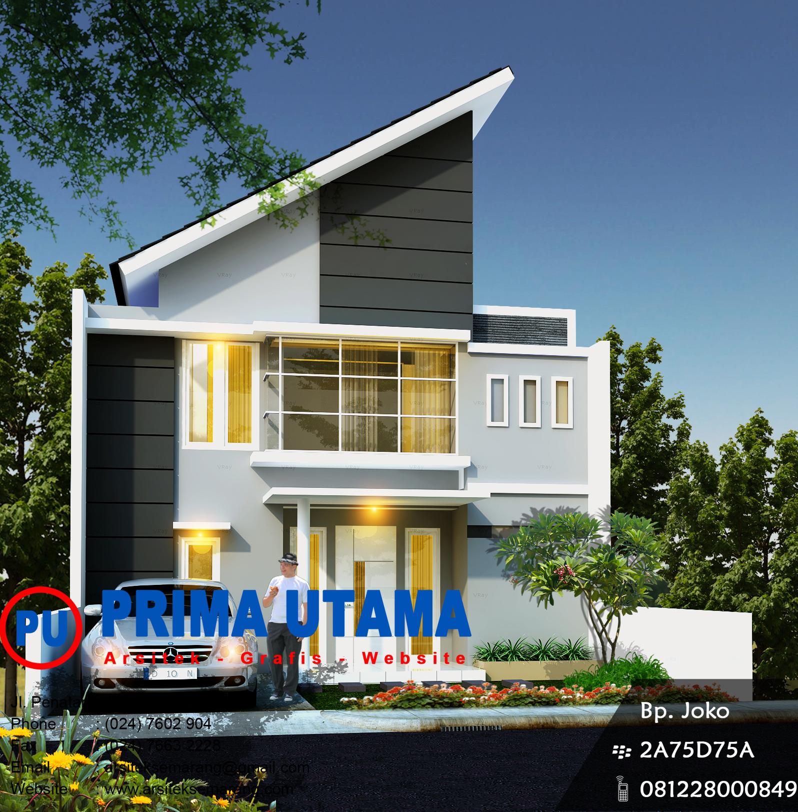 designer rumah minimalis semarang cv prima utama