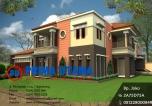 Desain Rumah Minimalis Mewah 2 Lantai Hook Bp. Mahadi di Medan