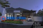 Desain Arsitektur Rumah Minimalis Bp. Aditya di Pedan Klaten