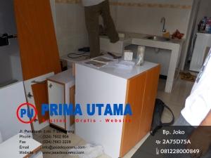 Kitchen Set Bagian Bawah Rumah Bp. Hans di Klipang Semarang