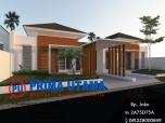 Desain Arsitektur 3D Rumah Minimalis Modern di Perumahan BSB Ciputra Semarang